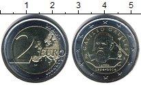 Изображение Мелочь Италия 2 евро 2014 Биметалл UNC- Галилео Галилей