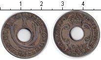 Изображение Монеты Уганда 1 цент 1912 Медно-никель VF