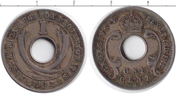 Картинка Монеты Уганда 1 цент Медно-никель 1912