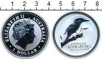 Изображение Монеты Австралия 1 доллар 2003 Серебро Proof- Коокабурра