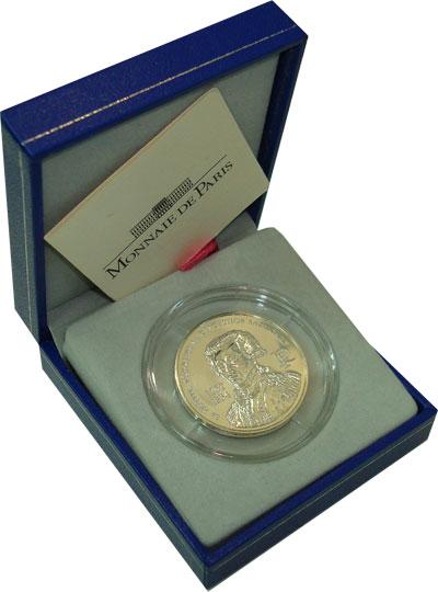 Изображение Подарочные монеты Франция Ла Файетт 2007 Серебро