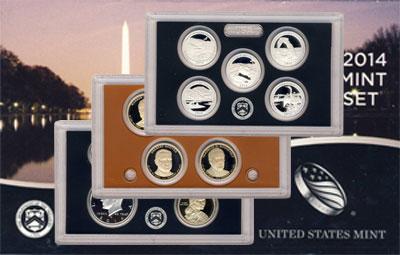 Изображение Подарочные монеты США Пруф-сет 2014 2014  Proof Подарочный набор пру