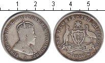 Изображение Монеты Австралия 1 флорин 1910 Серебро VF