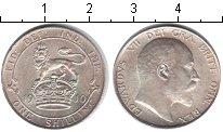 Изображение Монеты Великобритания 1 шиллинг 1910 Серебро XF Эдуард VII.