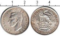 Изображение Монеты Великобритания 1 шиллинг 1946 Серебро XF Георг VI.