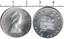 Изображение Монеты Остров Мэн 5 пенсов 1978 Медно-никель UNC-