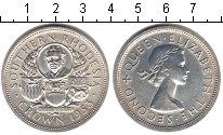 Изображение Монеты Великобритания Родезия 1 крона 1953 Серебро XF