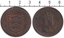 Изображение Монеты Великобритания Остров Джерси 1/12 шиллинга 1957 Медь XF