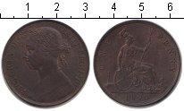 Изображение Монеты Великобритания 1 пенни 1890 Медь XF Виктория