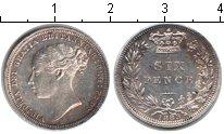 Изображение Монеты Великобритания 6 пенсов 1883 Серебро XF Виктория