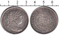 Изображение Монеты Великобритания 1/2 кроны 1817 Серебро VF Георг III