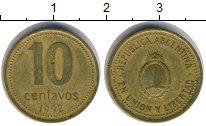 Изображение Барахолка Аргентина 10 сентаво 1992