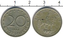 Изображение Дешевые монеты Болгария 20 стотинок 1999