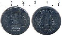 Изображение Дешевые монеты Индия 1 рупия 1999