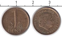 Изображение Барахолка Нидерланды 1 цент 1960