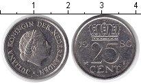Изображение Барахолка Нидерланды 25 центов 1980