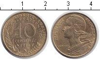 Изображение Дешевые монеты Франция 10 сантим 1975