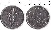 Изображение Дешевые монеты Франция 1 франк 1976