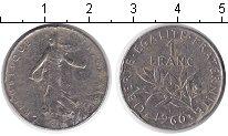 Изображение Дешевые монеты Франция 1 франк 1960