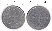 Изображение Барахолка Финляндия 1 пенни 1975