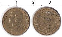 Изображение Дешевые монеты Франция 5 сантим 1980