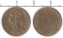 Изображение Дешевые монеты Франция 5 сантим 1984