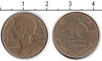 Изображение Дешевые монеты Франция 10 сантим 1994