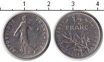 Изображение Дешевые монеты Франция 1/2 франка 1966