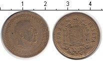 Изображение Дешевые монеты Испания 1 песета 1966 Медно-никель XF