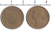 Изображение Дешевые монеты Франция 10 сантим 1969