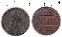 Изображение Дешевые монеты США 1 цент 1972