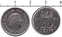 Изображение Барахолка Нидерланды 25 центов 1973