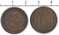 Изображение Дешевые монеты Испания 1 песета 1953