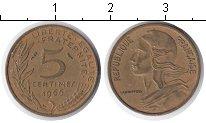 Изображение Дешевые монеты Франция 5 сантим 1966