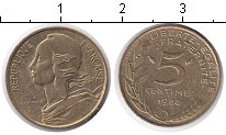 Изображение Барахолка Франция 5 сантимов 1988