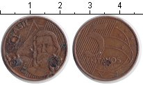 Изображение Дешевые монеты Бразилия 5 сентаво 2003