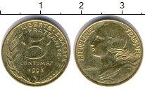 Изображение Дешевые монеты Франция 5 сантим 1993