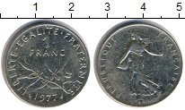 Изображение Барахолка Франция 1 франк 1977