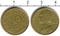 Изображение Дешевые монеты Франция 10 сантим 1967