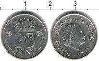 Изображение Барахолка Нидерланды 25 центов 1951