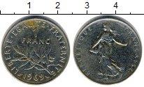 Изображение Дешевые монеты Франция 1 франк 1969