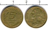 Изображение Дешевые монеты Франция 5 сантим 1973
