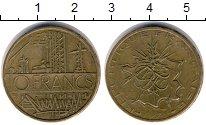 Изображение Дешевые монеты Франция 10 франков 1978