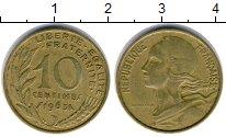 Изображение Дешевые монеты Франция 10 сантим 1963