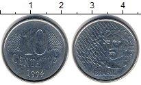 Изображение Дешевые монеты Бразилия 10 сентаво 1994