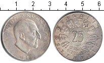 Изображение Монеты Австрия 25 шиллингов 1962 Серебро XF Антон Брукнер