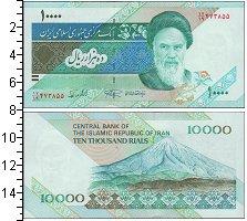 Изображение Боны Иран 10000 риалов 0  UNC-