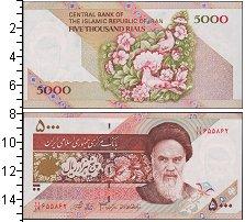 Изображение Банкноты Иран 5000 риалов 0  UNC-