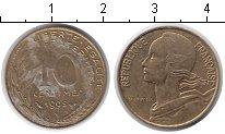 Изображение Дешевые монеты Франция 10 сантим 1995