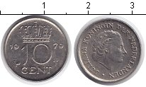 Изображение Дешевые монеты Нидерланды 10 центов 1979